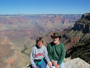 John & Holly in the Grand Canyon - 2005