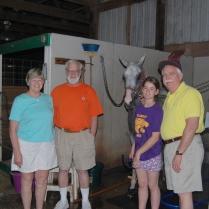 Nancy, John, Maddie, and Gil