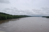 Missouri River flooding it's banks