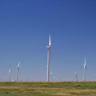 Windmill Farm along I-70 W