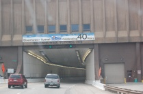 Entrance to Eisenhower/Johnson Memorial Tunnel