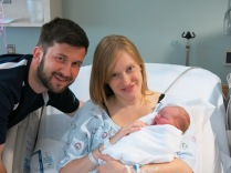 Kevin, Susie, and baby Hazel