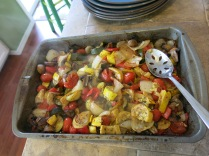 John Ritger's delicious roasted veggies