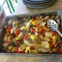 John Ritger's delicious roasted veggies