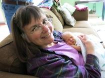 Grandma Holly and Hazel