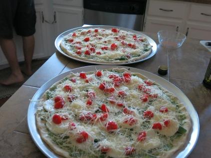 yummy pizzas!