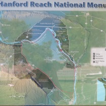 map of Hanford Reach National Monument