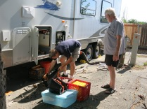 John and RV repairman