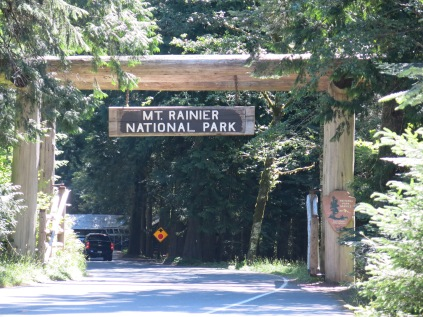 Nisqually entrance to Mount Rainier National Park