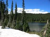 lake along our drive