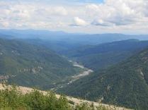 view of valley below Windy Ridge
