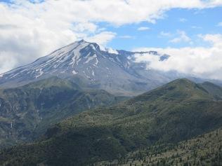 Mount St Helens north side