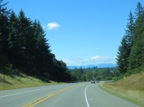 Driving Hwy 101 N to Port Angeles, WA KOA