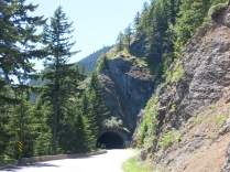 mountain tunnel, Olympic National Park