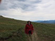 Holly on Rainshadow Trail