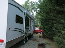 Port Angeles KOA campsite, # 1 - we changed sites and saved $35/night!!