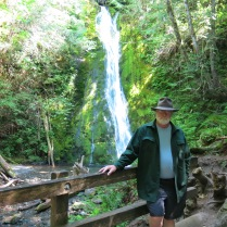 AJ at Madison Creek Falls