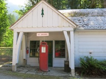 Gas Pump at the Elwha Ranger Station