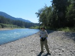 Holly by Hoh River