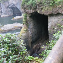 sea caves seen from another view point