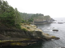 shoreline at Cape Flattery