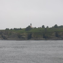 Tatoosh Island Lighthouse... about a 1/2 mile offshore