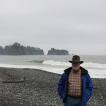 AJ on Rialto Beach