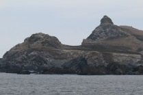 Castle Rock - smaller rocks in front covered with seals