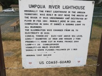 a little history about the Umpqua Lighthouse