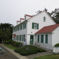 old Coast Guard Station - now a lighthouse museum