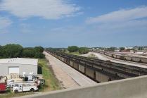 many coal trains...