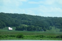 the rolling hills of Missouri were very welcome after all of the flat country we saw in Nebraska