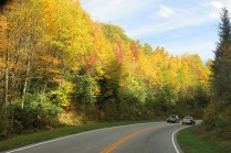 US Hwy 441 through the Smokies - around 3,500 foot elevation