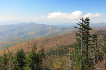 10-21-13 View from Clingmans Dome parking lot