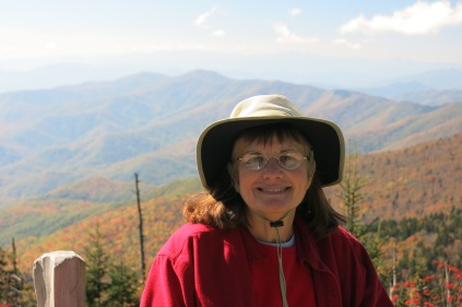 10-21-13 Holly on Clingmans Dome Trail
