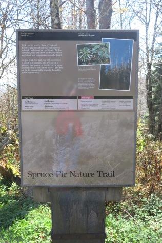 Spruce-Fir Nature Trail