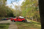 10-22-13 Cosby Picnic area parking