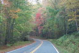 10-22-13 Highway 32 E towards Big Creek