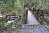 bridge across Baxter Creek at Big Creek Picnic area
