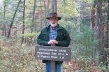 10-22-13 AJ at Appalachian Trail sign