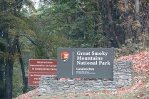 entrance to Cataloochee section of the Smokies