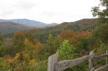 10-24-13 view from scenic overlook near Cataloochee