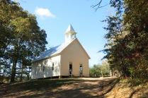 10-25-13 Cades Cove Methodist Church - built in 1902