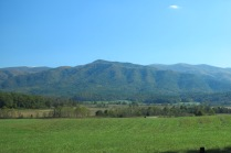 10-25-13 view by meadow on Cades Cove Loop Road