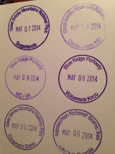 National Parks and Historic Sites Passport Stamps