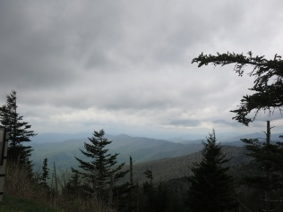 view at Clingman's Dome, GSM
