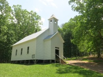 Cades Cove Missionary Baptist Church, Founded 1839, Great Smoky Mountains NP