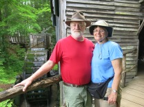 John and Holly at the John P Cable Grist Mill