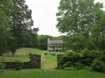 Hunters long house in the village near the Daniel Boone Home - Defiance, MO
