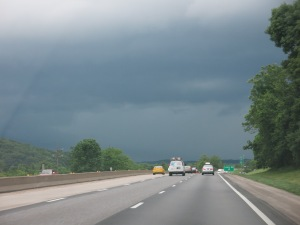 storm's a coming'
